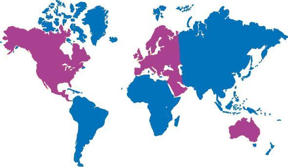 Kansainvälisyys on Mercurian yksi tärkeimmistä painopistealueista.